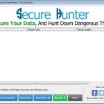 Secure Hunter Anti-Malware Secure Hunter Anti-Malware Scan Results