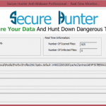 Secure Hunter Anti-Malware Secure Hunter Anti-Malware real time monitor