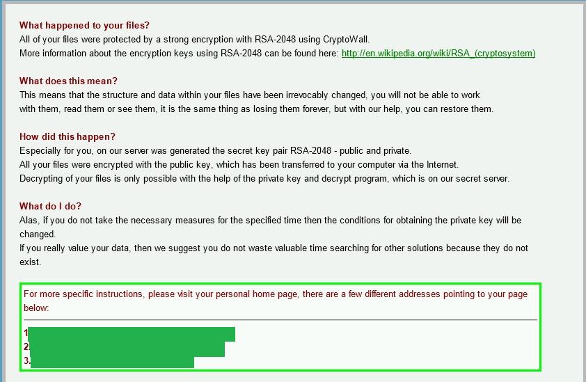 Crowti encryption message